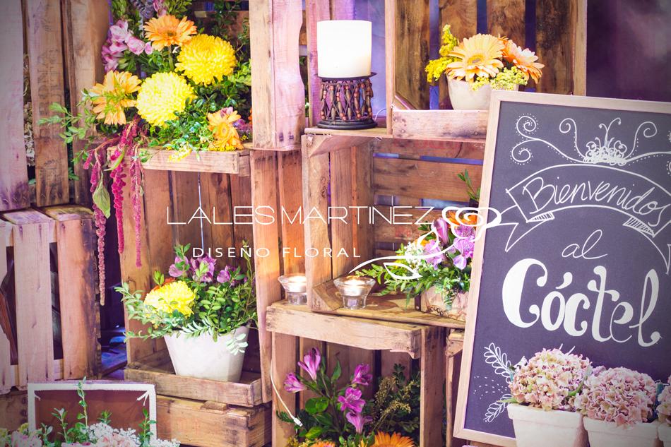 stands decoracion vintage