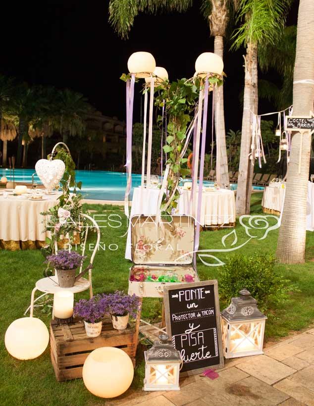 lales martinez | boda en el hotel envia (almería)