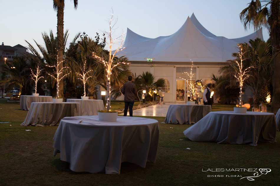lales martinez | siempre alegre. decoracion de boda en almerimar