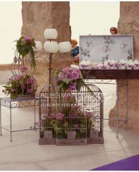 Ceremonia en la iglesia de Las Salinas Cabo de Gata (Almería)