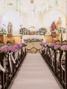 Decoración iglesia de Mojacar