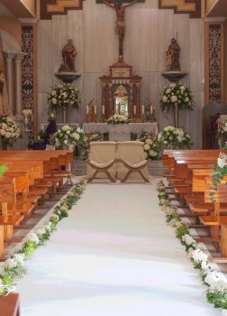 Decoración de iglesia de Macael