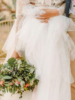 ramo de novia de estilo silvestre
